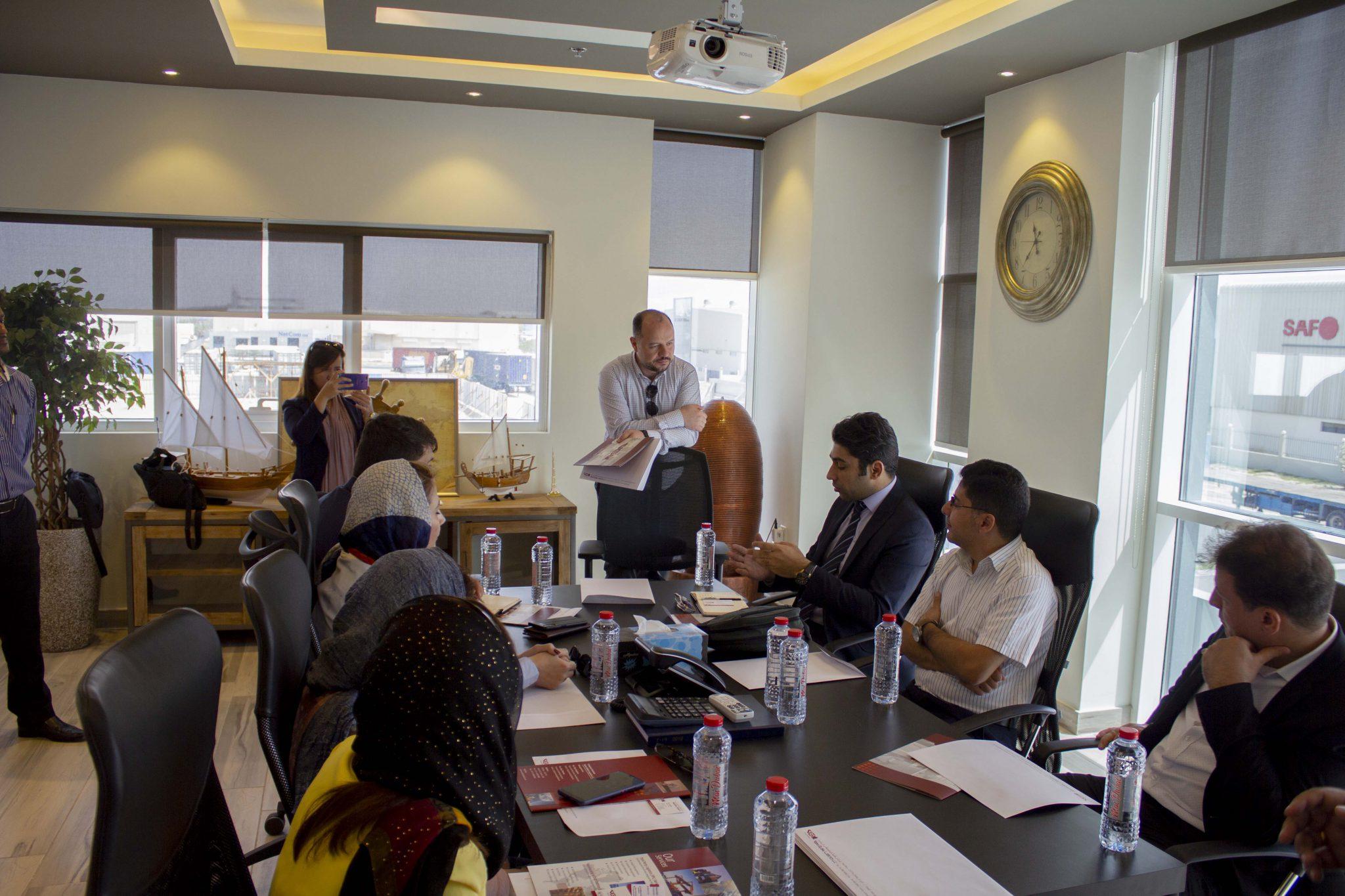 بازدید مدیر عامل گروه مکاکو در نمایشگاه صنعت برق خاورمیانه دبی Middle East Electricity 2019