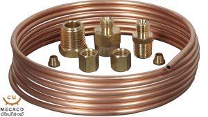 اتصالات copper tubes